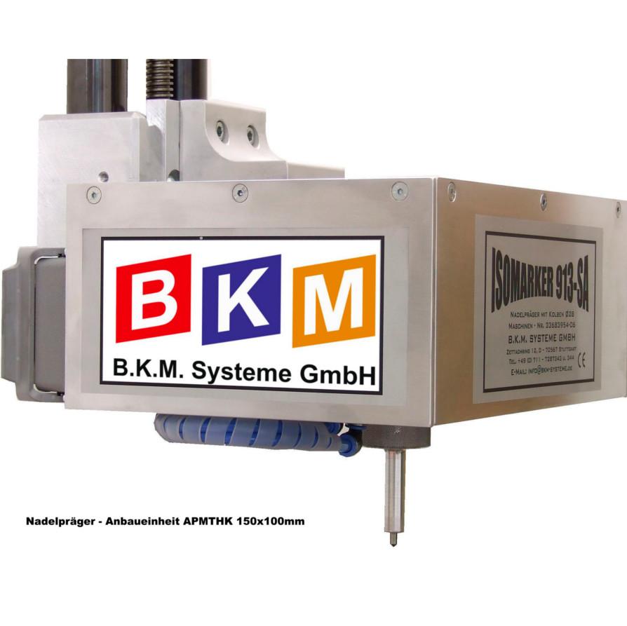 BKM Systeme::Nadelpräger Anbaueinheit APMTHK 150x100mm