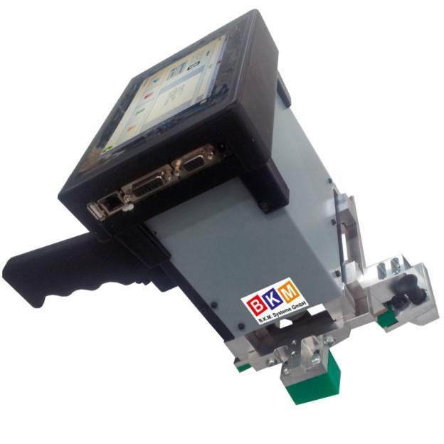 BKM Systeme:: Tragbarer Nadelpräger BKM-PAM110_N5 Beschriftungsfeld 110x30mm