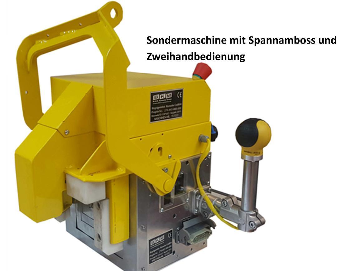 BKM Systeme::Sondermaschine Ritzpräger