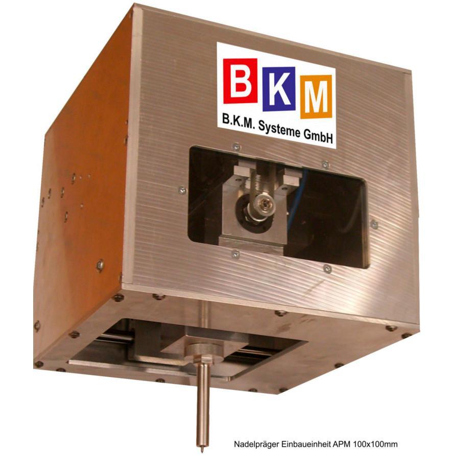 BKM Systeme::Nadelpräger Anbaueinheit APM 100x100mm