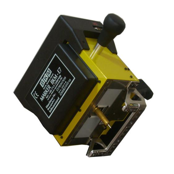 BKM Systeme:: Tragbarer Nadelpräger BKM-EAM8030 Beschriftungsfeld 80x30mm