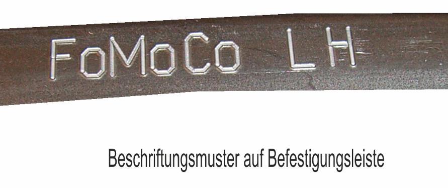 industrelle Kennzeichnung von Bauteilen