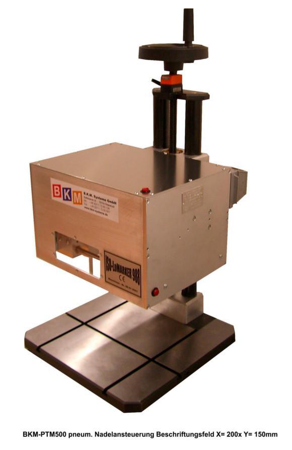 Tischmaschine Beschriftungsfeld 200 x 150 mm